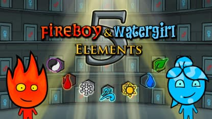 Fireboy & Watergirl 5: Elements
